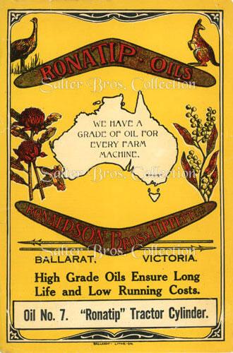 Ronatip Oils - Salter Bros. Collection