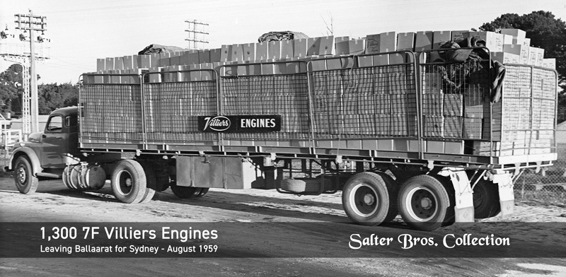 1,300 Villiers 7F Engines