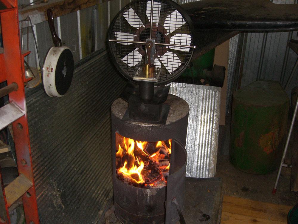 Free Breeze Hot Air Fan