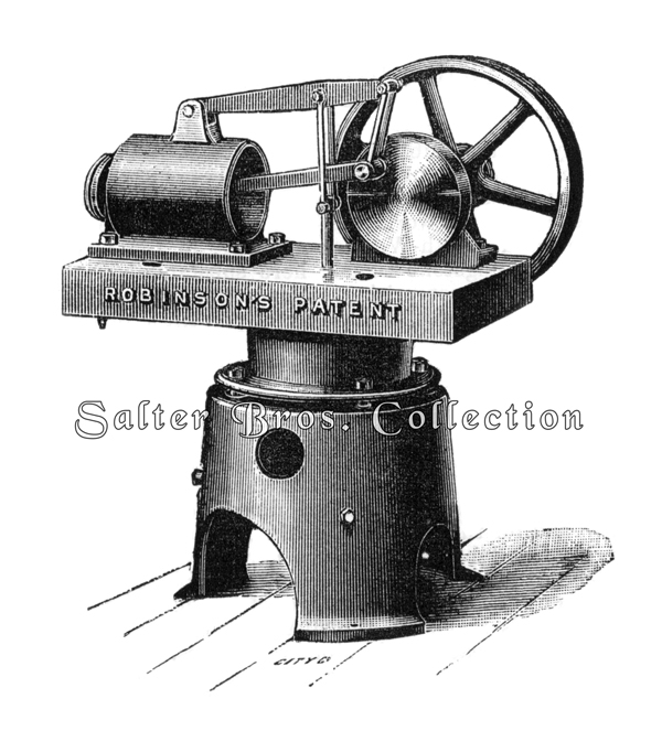 Robinson's Patent Hot Air Engine