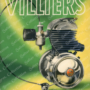 Villiers Engine Poster