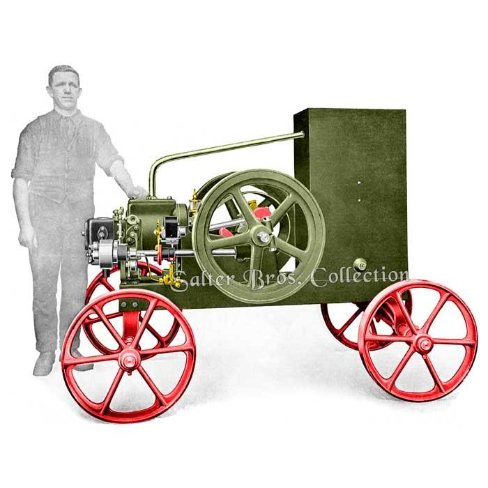 Ronaldson Tippett - 3 HP Portable Hopper Cooled
