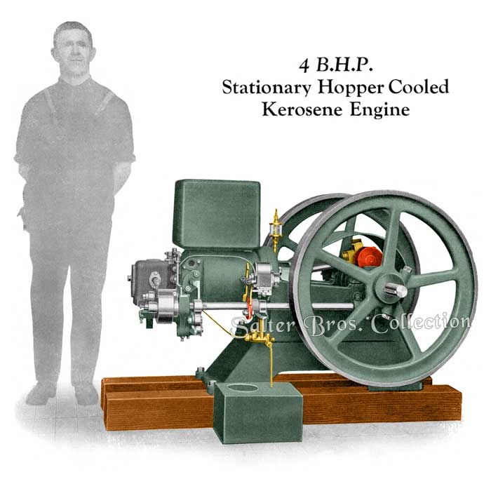 Ronaldson Tippett - 4 HP Stationary Hopper Cooled