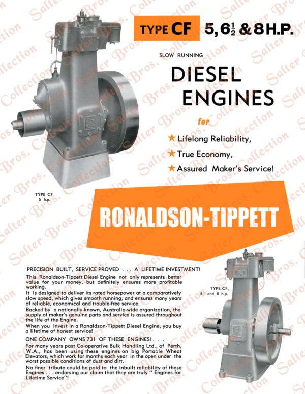 Ronaldson Tippett Type CF Diesel