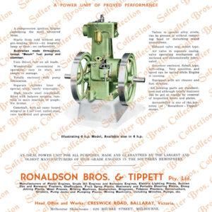 Ronaldson Tippett Type CF Diesel Poster