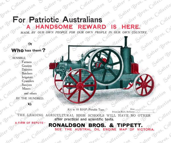 Ronaldson Tippett Austral 8-10 HP