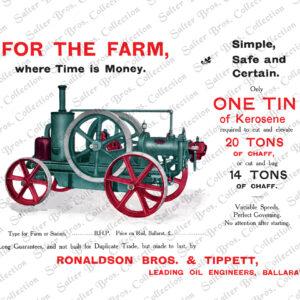 Ronaldson Tippett Austral Oil Engine 6 - 8 BHP