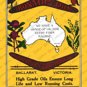 Ronaldson Tippett - Ronatip Oils Poster