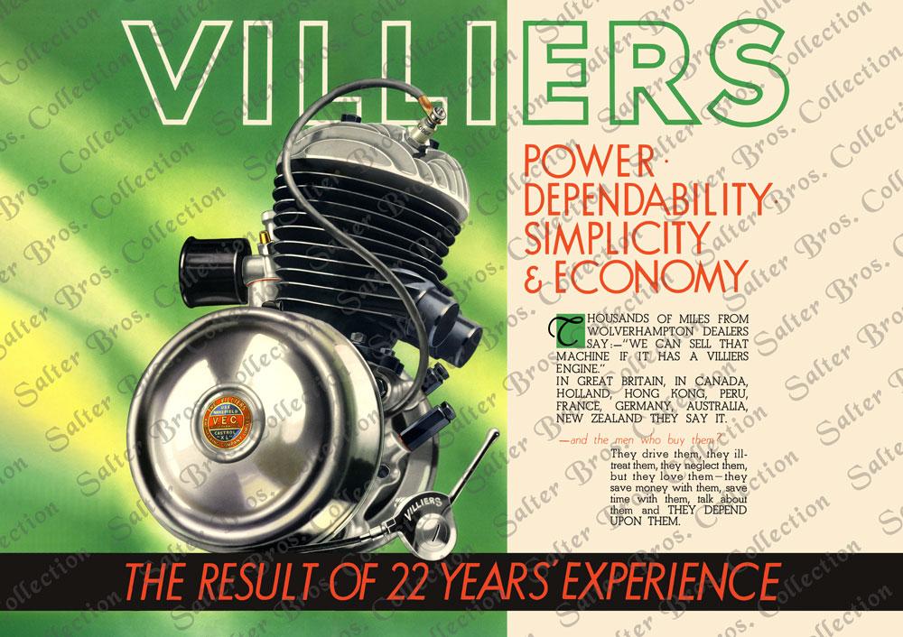 Villiers Engineering Poster