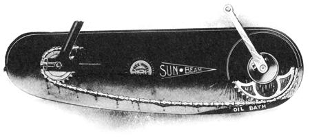 Sunbeam Bicycle Little Chain Oil Bath