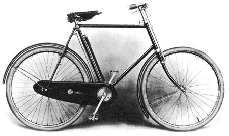 John Marston's Sunbeam Bicycle