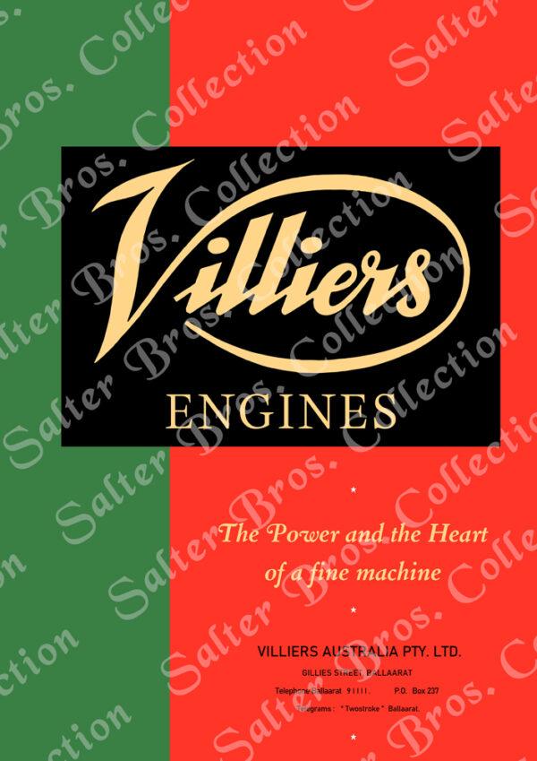 Villiers Australia Poster
