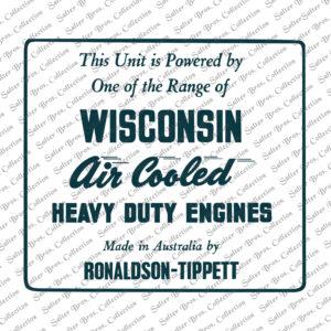 Ronaldson Tippett Wisconsin Sign