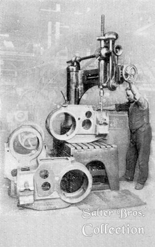Drilling a Transmission Case