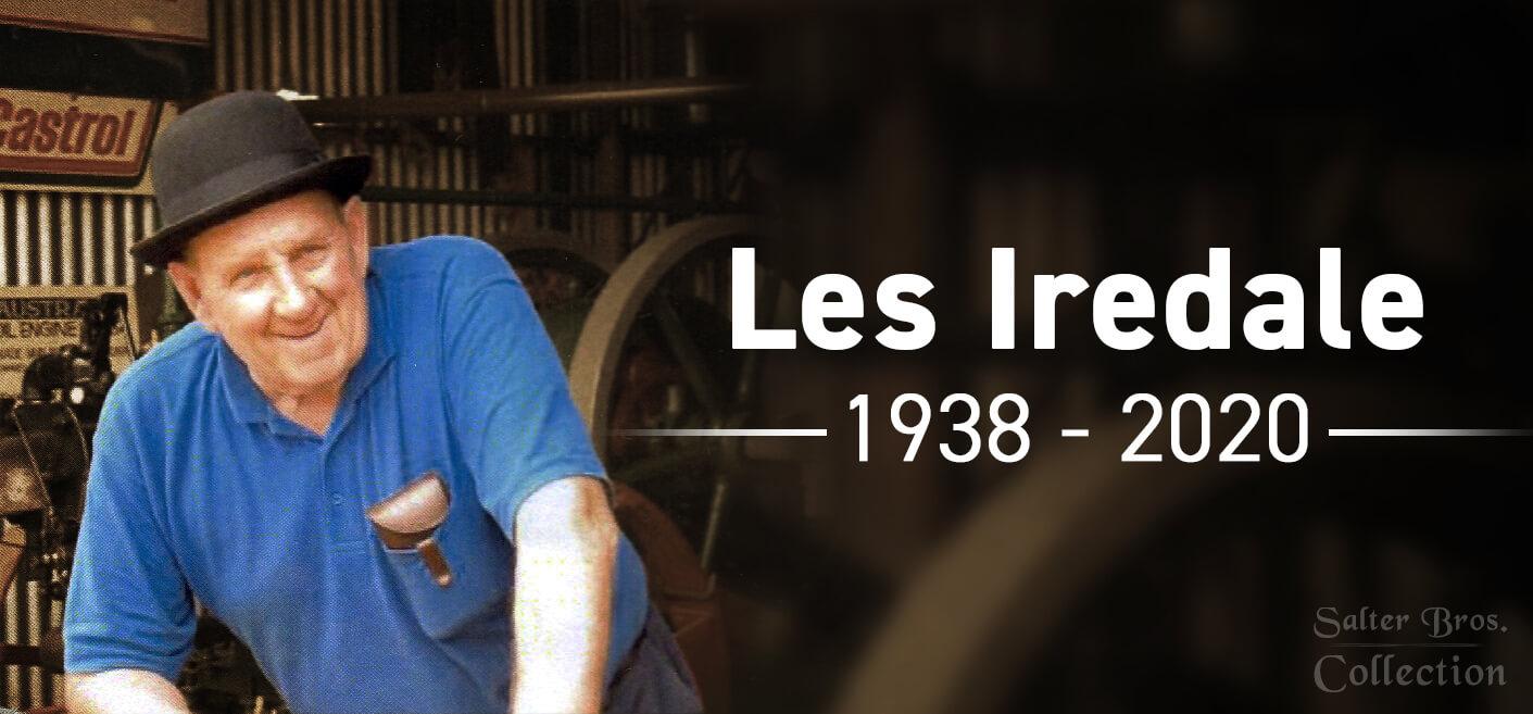 Les Iredale - Ronaldson Tippett Expert