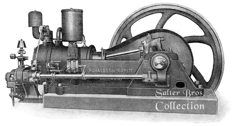 Ronaldson Bros. & Tippett Type M - Crude Oil Engine