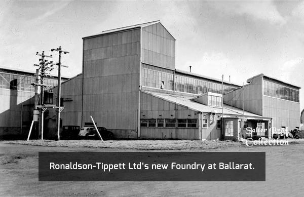 Ronaldson-Tippett Foundry 1945