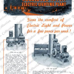 Ronaldson Tippett RN, MN, RD & RF Lighting Plant