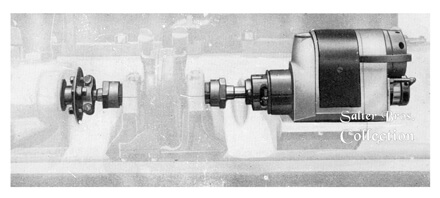 Bosch Magneto and flexible coupling-tractor